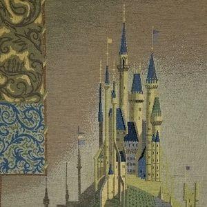 Sleeping Beauty Castle Tapestry